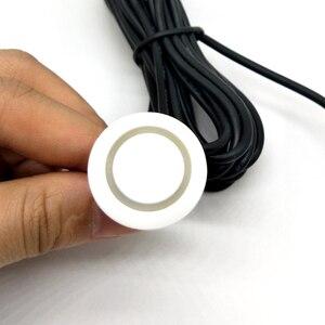 Image 2 - 4 adet/grup sensörleri hiçbir matkap delik testere 19mm araba park sensörü kiti ters Radar ses uyarısı göstergesi sistemi