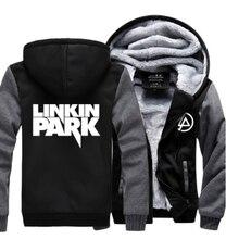 Hot New ÉTOILES AIME À Capuche Linkin Park Logo Hiver JiaRong Polaire Mens Shirts Livraison Gratuite