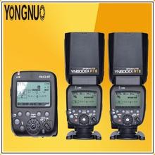 YONGNUO 2 * YN600EX-RT II 2.4G Için TTL Kablosuz + YN-E3-RT Master Flaş Speedlite Canon RT Radyo Tetik Sistemi ST-E3-RT 600EX-RT 5D