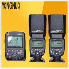 YONGNUO 2*YN600EX-RT II 2.4G TTL Wireless+YN-E3-RT Master Flash Speedlite For Canon RT Radio Trigger System ST-E3-RT 600EX-RT 5D купить недорого в Москве