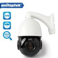 4.5 inch 1080 P 2MP AHD PTZ Dome Camera 10X Optische Zoom 1080 P Cctv Camera Outdoor Weerbestendig IP66 30X Zoom (optioneel)
