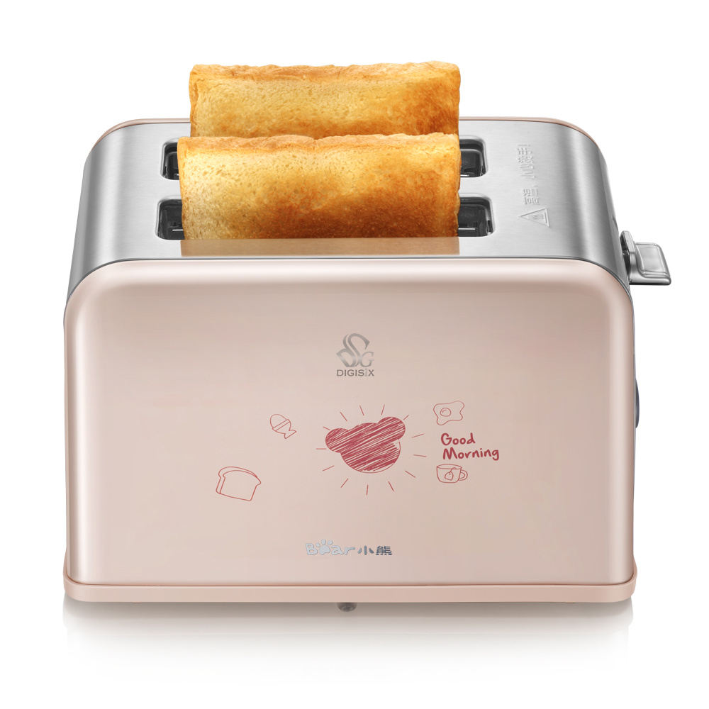 ФОТО DSL-A02U1 toaster stainless steel household automatic 2 Slice Toaster