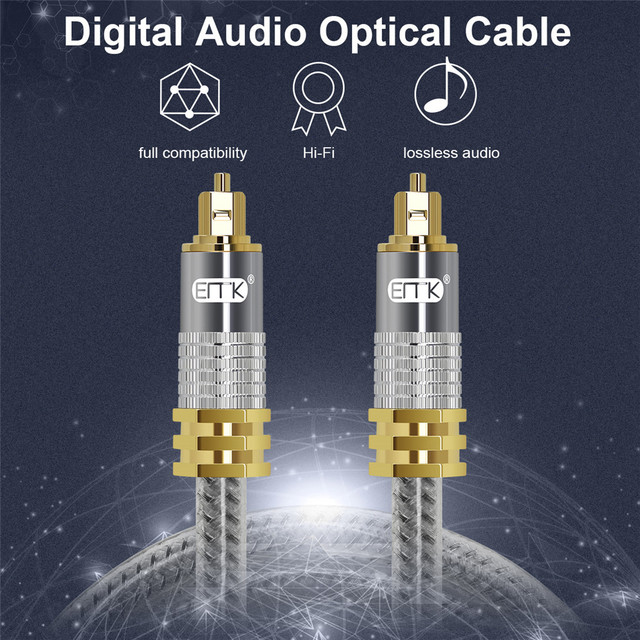 Gold Digital Optical Cable