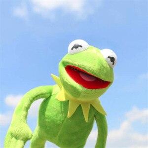 Image 3 - 40 سنتيمتر أفخم كيرميت الضفدع السمسم شارع الضفادع دمية و Muppet تظهر ألعاب من القطيفة عيد الميلاد عيد الميلاد أفخم محشوة دمية للأطفال