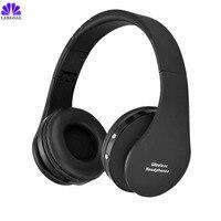 Tai nghe không dây bluetooth head set Tai Nghe Không Dây Stereo Có Thể Gập Lại cho PC với microphone Cordless bluetooth headphone