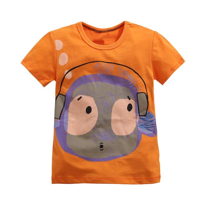 Free Shipping 2017 Baby Boy Tees Short Sleeve Fashion Boy T Shirt