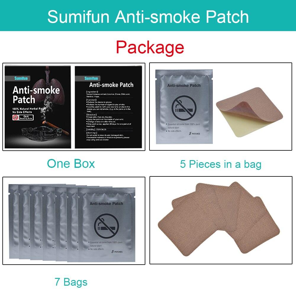 35pcs Patch Nicotine Patch SmokingAnti-smoking Pad Stop Smoking Cessation Nicotine Patch Tabacco Leaf Health Care K01201 4