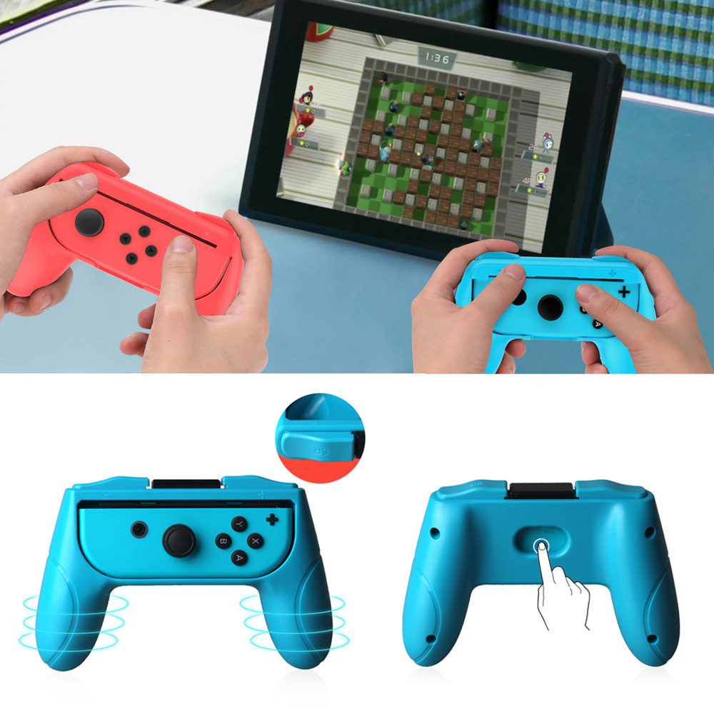 New 2 PCS Handle Grip For Nintendo Switch Gamepad Joystick Accessories For Nintend Switch Controller Joycon NS NX Holder StandNew 2 PCS Handle Grip For Nintendo Switch Gamepad Joystick Accessories For Nintend Switch Controller Joycon NS NX Holder Stand