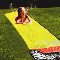 4.8m Inflatable Water Slide For Kids Surf 'N Slide Summer Big Pool Bounce House Water Toys Pool Accessories Swimming Pool Games
