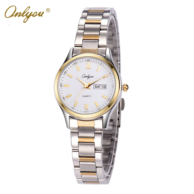 Wrist Watches For Women Quartz Analog Movement Stainless Steel Strap 30m Waterproof Ladies Dress Watch Relogio Feminino 8835 watch women vintage floral printed fabric cloth strap ladies bracelet watches analog quartz wrist watch relogio feminino