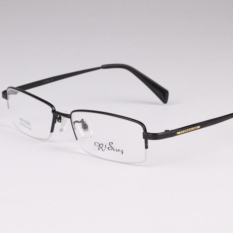 chashma brand top quality titanium glasses ultra light eyewear men pure titan optical glasses frame