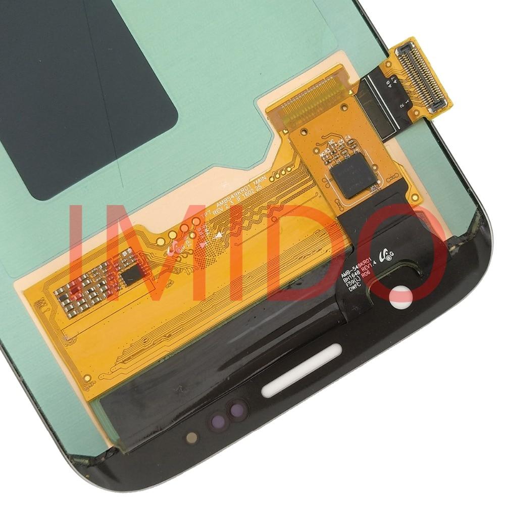 Pour Samsung Galaxy S7 BORD G935 G935F Super AMOLED Écran LCD + Écran Tactile Digitizer Assemblée Pièces De Rechange - 6