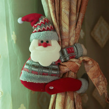 2019 Happy New Year Christmas Decorations for Home Christmas Ornaments Curtain Buckle Old Man Tree Decorations декоративные украшения poetry man home decorations 2158c