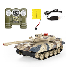 Remote Control Battle Tank Kids Gift RC Tanks parent child infrared Remote Control with turret Tank