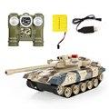 Tanques RC Tanque De Guerra de Controle remoto Crianças Presente pai-filho Brinquedo de Controle Remoto infravermelho com turret Tanque de Guerra modelo carro