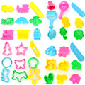 36pcs BOHS Play Dough Playdough Polymer Clay Plasticine Mold Tools Set Kit