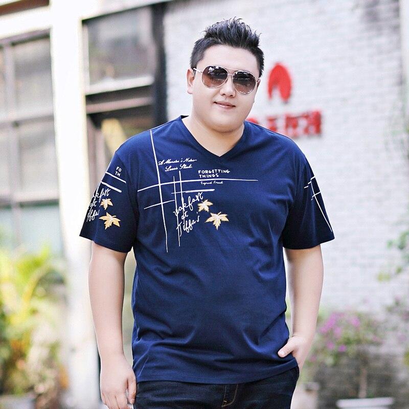 2018 nouvelle grande taille 9XL 8XL 7XL 6XL 5XL mode hommes d'été à manches courtes t-shirt hommes palace dragon ball coton t-shirts