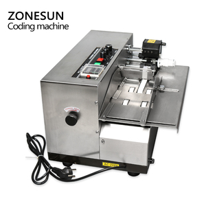 Image 4 - ZONESUN MY380 Ink Roll Coding Machine Card Code Printer Produce Date Printing Machine Solid Ink Continuous Printing Machine