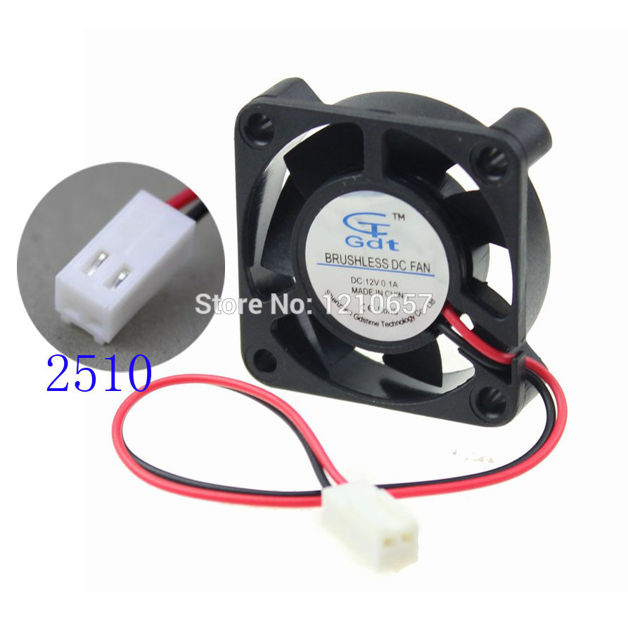 10 Pieces LOT Gdstime 40mm 40 x 40 x 10mm 4010s 12V 2Pin 2510 Connector Cooling Cooler DC Fan 20 pieces lot gdstime 40mm 40 x 40 x 10mm 4010s dc 12v 2p brushless cooler cooling fan