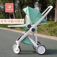 hot mom two way light scape stroller light folding trolley baby high landscape suspension cart