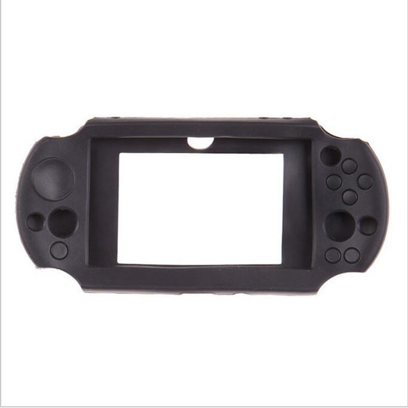 Silicone gel TPU Soft Protective Cover Shell for <font><b>Sony</b></font> PlayStation Psvita <font><b>PS</b></font> <font><b>Vita</b></font> PSV 2000 <font><b>Console</b></font> Full Body Protector Skin Case image