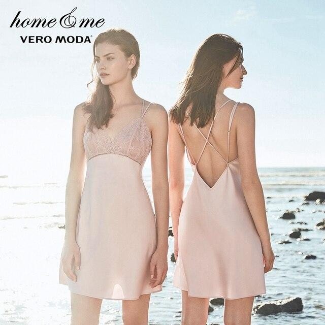 Vero Moda Lace Midi Slip Sleepwear|3181N2502