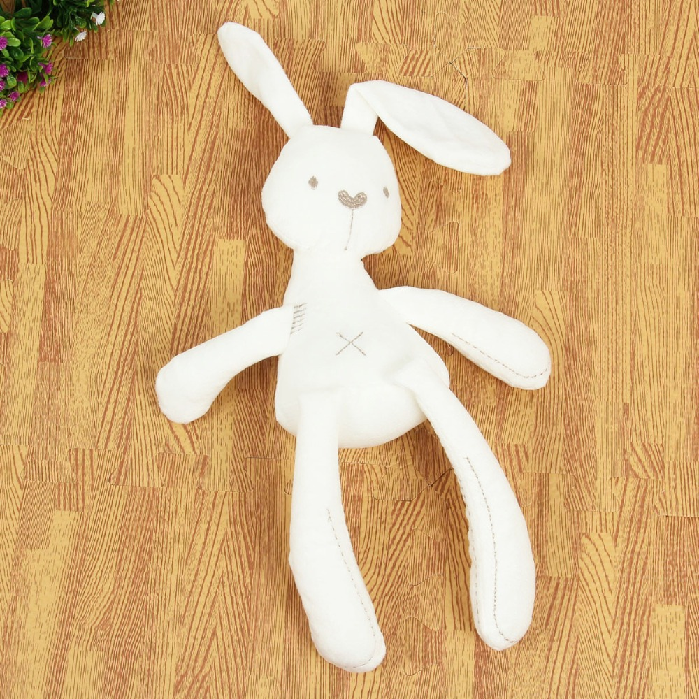 Image 4 - 2018 Cute Rabbit Doll Baby Soft Plush Toys For Children Bunny Sleeping Mate Stuffed &Plush Animal Baby Toys For Infants-in Stuffed & Plush Animals from Toys & Hobbies