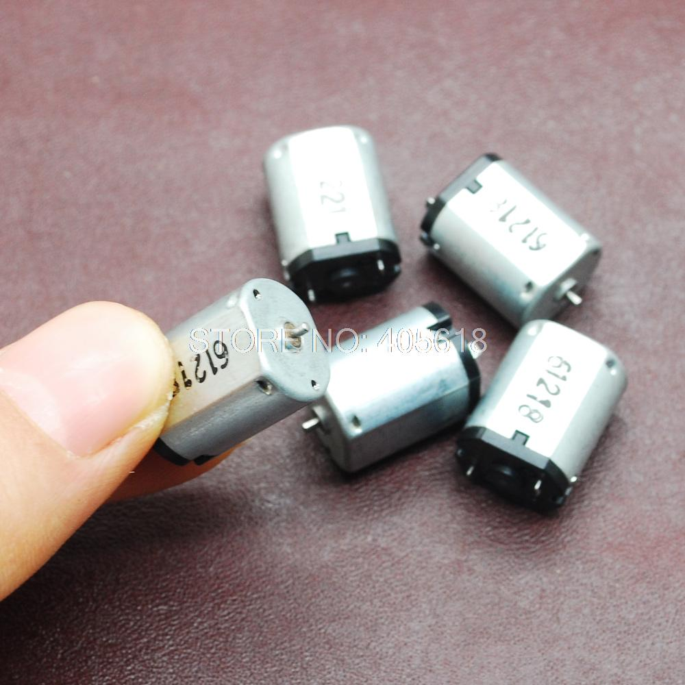 5 шт. N20 1,5-6 В постоянного тока более крутой мотор микро Солнечные DIY мини-редуктор 2000 об/мин-6000 об/мин