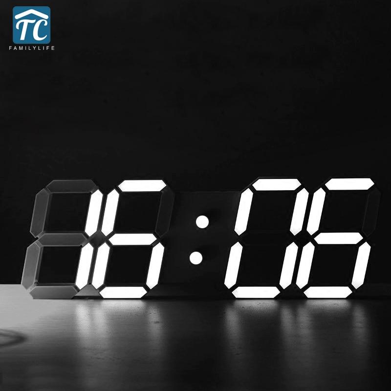 Reloj despertador Digital LED 3D creativo de gran tamaño con Sensor de luz automático Tabla Periódica de elementos, arte de pared, símbolos químicos, reloj de pared, pantalla educativa, elemento, reloj de aula, regalo de maestro