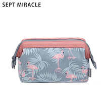 Cosmetic Bag Female Portable Pillow Zipper Make up Bag High Quality Toiletry Wash Bag Women Makeup Pouch Bag For Travel