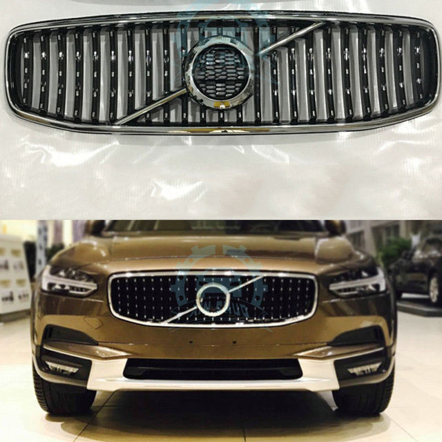 1998 Volvo S90 Exterior: Hi Q Mesh Cover Car Front Grille Grill Fit For Volvo S90
