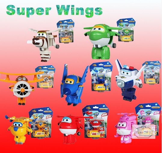 1pcs 2015 best selling super wings planes cartoon super wings transformation toys action figure toy for children christmas gift in action toy figures from - Best Toys 2015 Christmas