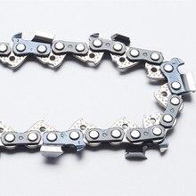 """Łańcuchy do pił łańcuchowych o średnicy 18 """". 325"""". 050 (1.3mm) 72 dłuto z ogniwami napędowymi profesjonalna piła łańcuchowa używana na benzynowej piły łańcuchowej"""