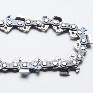 """Image 1 - Łańcuchy do pił łańcuchowych o średnicy 18 """". 325"""". 050 (1.3mm) 72 dłuto z ogniwami napędowymi profesjonalna piła łańcuchowa używana na benzynowej piły łańcuchowej"""
