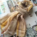 Stripe Women Scarf Ink Painting Fashionable Shawls Large Female Pashmina Brand New