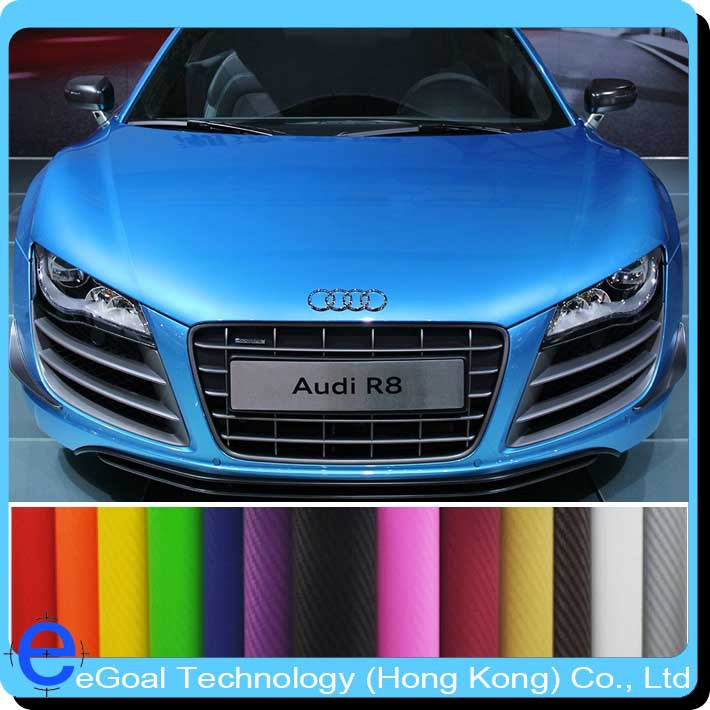 13 colors 200x50cm car styling factory price carbon fiber 3m vinyl motorcycle car auto paint film car stickers full 3d exterior in decals stickers from