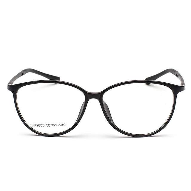 66211f12ad Online Shop Women Eyeglasses Frame Vintage Big Spectacle Men Myopia Glasses  Girls Boys Leisure Optical Cat Eye Eyewear