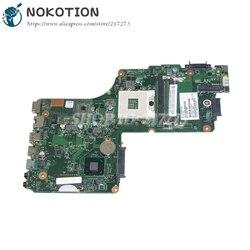 Nokotion 1310A2541804 V000275560 Papan Utama untuk Toshiba Satellite C855 Motherboard Laptop HM76 Uma DDR3