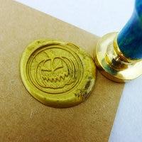 Wax Seal Stamp Halloween Pumpkin Sealing Wax Seal Fall Harvest Stamp