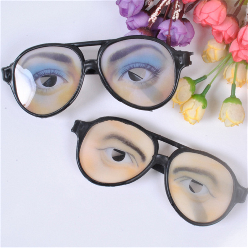 Frames men women Holiday Festival halloween decoration extremely funny <font><b>glasses</b></font> frame eyes frames mischief Decoration Accessory