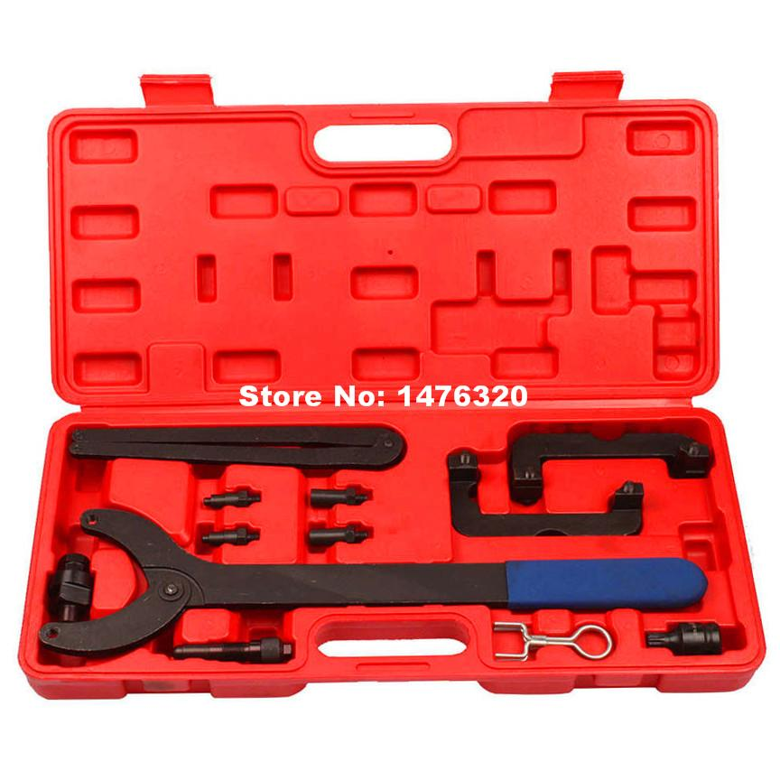 Automotive Engine Timing Camshaft Locking Alignment Tool Kit For VW AUDIV6 2.0 2.8 3.0T FSI AT2215 engine setting locking combination kit master engine timing tool set fits for ford 1 4 1 6 ti vct tdci 1 8 2 0 16v 2 2 tdci