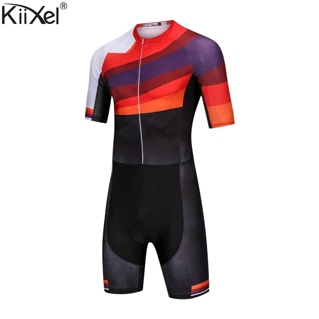 Pro Team Cycling Skinsuit Triathlon Trisuit Ropa Ciclismo Maillot Jumpsuit Road Racing Skinsuit Bike Jersey Sports Wear