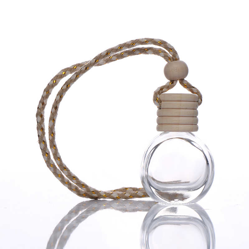 Auto-styling Accessori Deodorante per Auto Auto Ciondolo Ornamento Auto Fragranza del Profumo Bottiglia di Profumo per Gli Oli Essenziali
