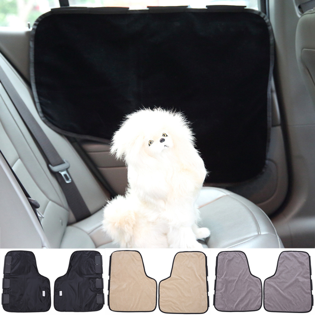 TINGHAO 2Pcs Pet Car Door Covers Protect Dog Cat Scratch Guard Panel Fit  All Vehicles