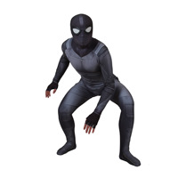 New SpiderMan costume Far From home Peter Parker Sneak Suit Cosplay spider man Costumes Zentai Seperhero Bodysuit for Adult kids