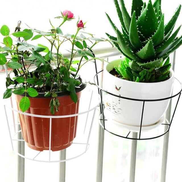 Balkon Hangen Regale Hangen Blumentopf Dekorative Garten Gelander