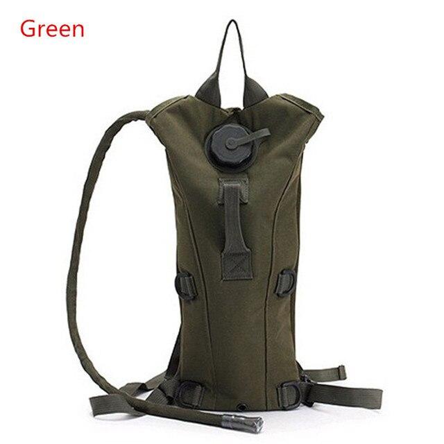 d6c9eb20cd3 3L Water Bag Molle Militaire Tactische Hydratatie Rugzak Outdoor Draagbare  Camping Kameel Terug Nylon Waterzak Bag