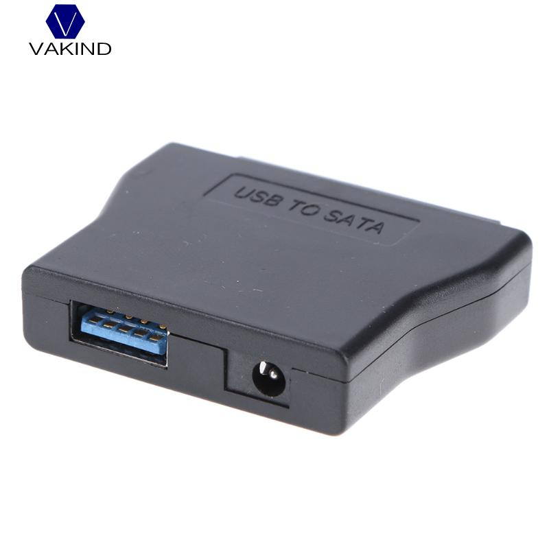 USB 3.0 to SATA Converter for 2.5 3.5 SATA HDD SSD Hard Disk Drive,  Support 2TB Hard Disk Drive with DC 12V US Power Adapter ugreen hdd enclosure sata to usb 3 0 hdd case tool free for 7 9 5mm 2 5 inch sata ssd up to 6tb hard disk box external hdd case