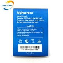 Цянь Симаи 1 шт. новый высококачественный чистого F Батарея Для Highscreen Boost, 2 Boost2 мобильного телефона + трек код