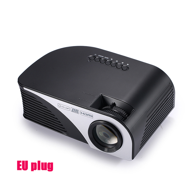 Hot Crenova 805B led mini projector 1200 Lumens 1080P Home Theather Video proyector projetor with HDMI VGA USB pk gm60 uc46 uc40